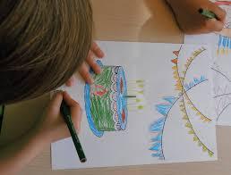 Afbeeldingsresultaat voor kinderen knutselen en tekenen