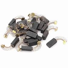 <b>10Pcs Graphite</b> Copper Motor <b>Carbon</b> Brushes Set Tight Copper ...