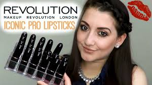 <b>Makeup Revolution</b> - <b>Iconic Pro</b> Lipsticks | Swatches & Review ...