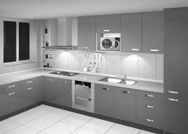 Gray And White Kitchen Designs Stylish And Cool Gray Kitchen Cabinets For Your Home