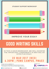 event details good writing skills kaplan campuslife good writing skills