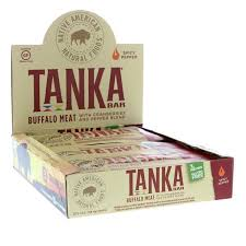 Tanka, <b>Bar</b>, <b>Buffalo Meat with</b> Cranberries and Pepper Blend, Spicy ...