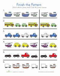 Kindergarten Patterns Worksheets & Free Printables | Education.comKindergarten Patterns Worksheets and Printables