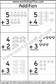 Picture Addition – Beginner Addition – 10 Kindergarten Addition ...kindergarten addition. Worksheet ...
