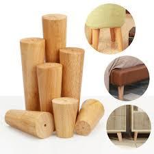 1/<b>4pcs</b> Wooden Furniture Legs/Feet Angled/<b>Straight For</b> Sofa Table ...