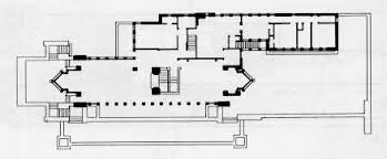 The Robie House Floor Plan by Frank Lloyd Wright   Howard    Robie House Floor Plan Architectural Model