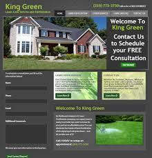 king green website design analysis de motte in maniac king green home