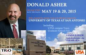 mcnair scholars save the date donald asher two day event donald asher