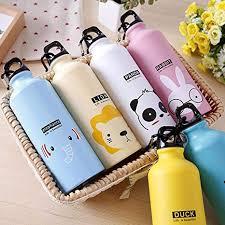 Todens <b>500mL</b> Cartoon <b>Aluminum Alloy</b> Water Bottle Animal Pattern ...