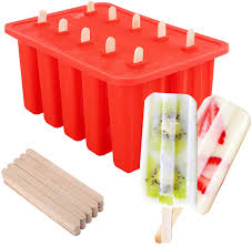 <b>DIY Silicone Ice Cream</b> Mold Popsicle Molds Frozen Mould with ...