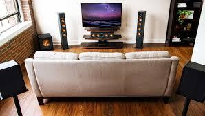 sound system wireless: klipsch reference premiere hd system   system lifestyle photo