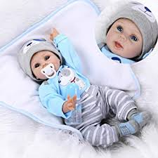 iCradle Lifelike 22inch 55cm Reborn Baby Doll Soft ... - Amazon.com