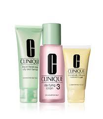 <b>3 Step</b> Introductory <b>Set</b> - Skin Type 3   <b>Clinique</b> Malaysia E ...