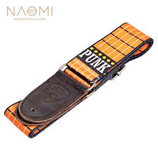 <b>NAOMI Guitar</b> Strap <b>Nylon Adjustable</b> Shoulder Strap For <b>Acoustic</b> ...