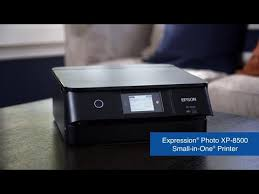 Expression <b>Photo</b> XP-8500 Small-in-One All-in-One Printer | <b>Photo</b> ...