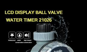 <b>Automatic Electronic LCD Display</b> Home Ball Valve Water Timer ...