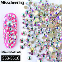 Wholesale Flatback Crystals <b>Ss16</b> for Resale - Group Buy Cheap ...