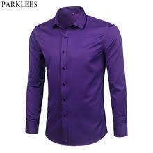 Best value Purple Dress Shirt for Men – Great deals on Purple Dress ...