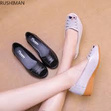 RUSHIMAN mother Sandals Women's shoes summer sandals skin ...