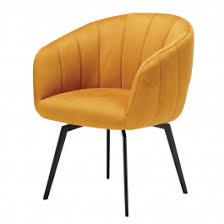 Lanza <b>Yellow Fabric Dining Chair</b>