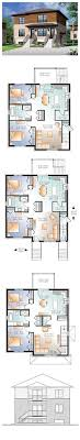 images about duplex multifamily house plans on Pinterest    Multi Family Plan   Total Living Area  sq  ft  Two