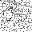Раскраски по номерам для малышей онлайн