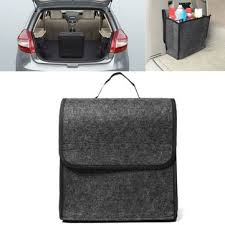 11.8x11.4 x6.3inch <b>felt cloth foldable</b> car back rear seat organizer ...