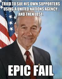Ron Paul's United Nations Epic Fail | The Last Bastille via Relatably.com