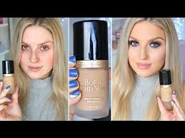 First Impression Review <b>Too Faced Born This</b> Way Foundation ...