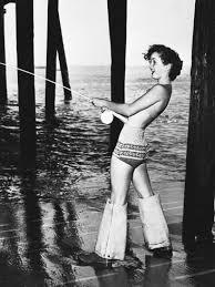 'Debbie Reynolds <b>Fishing</b>' Photographic Print | Art.com in 2021 ...