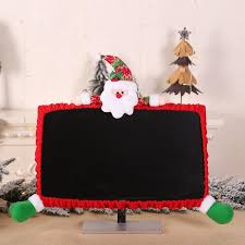 <b>Cute 3D Doll</b> Decorative Christmas Computer Monitor Cover Laptop ...