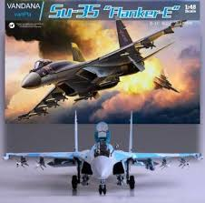 Vandana Sukhoi <b>SU-35</b> Jet Fighter