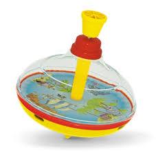 Детская <b>юла</b> прозрачная <b>Остров сокровищ</b> диаметр - 14 см ...