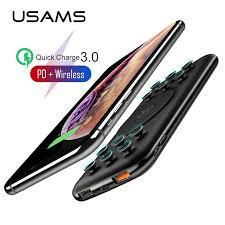 Беспроводное <b>зарядное устройство USAMS</b> Qi, портативное ...