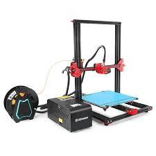 <b>Alfawise U20</b> Review: <b>Large Scale</b> Touch Screen DIY 3D Printer