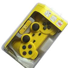 PS2 Wireless Game Controller 2.4G Handle Double Vibration With ...