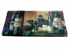 grapes grape themed kitchen rug: tuscan wine grapes deluxe chef mat kitchen rug it is made in the usa and measures