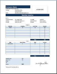 ms excel customer service invoice template word excel templates ms excel customer service invoice