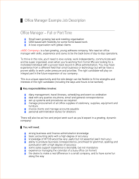 administrator job description template business proposal administrator job description job description office manager by user002