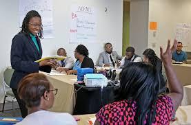new wave of teachers in training heads to dallas isd charter schools education dallas news alternative teacher certification dallas