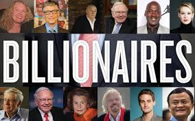 Image result for billionaires