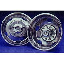 ford gm chevy dodge budd rims all years  namsco stainless steel wheeliners