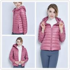 2019 <b>New Brand 90</b>% White Duck Down Jacket Women Autumn ...