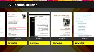 create your unique resume with cv resume builder cv resume builder free download safe download resume builder software free download