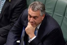 Image result for joe hockey tongue in cheek