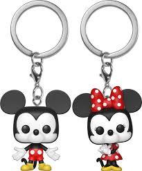 <b>Брелок</b> Funko POP! Keychain <b>Disney Mickey</b> 2PK Mickey & Minnie ...