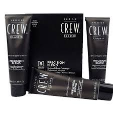 <b>American Crew</b> Precision Blend <b>Краска для</b> седых волос темный ...