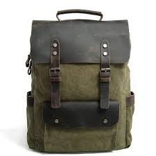 HELSINKI | Sturdy, Durable & <b>Vintage</b> Canvas <b>Backpack</b> | EIKEN Shop