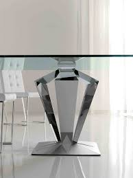 Glass Top Pedestal Dining Room Tables Dining Table Legsmetal Legs Product Products Dining Table