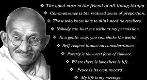 Mahatma Gandhi Jayanti !!! | Spirited Diva